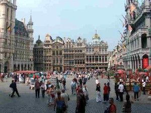 Le Grand Place, Brussels Belgium